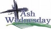 ash wednesday graphic